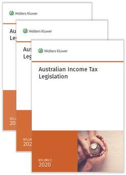 Australian Income Tax Legislation 2020 - 3 Volume Set