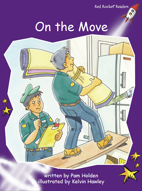 Red Rocket Readers: Fluency Level 3 Fiction Set C: On the Move (Reading Level 19/F&P Level J)