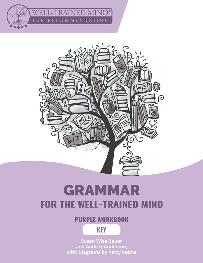 Grammar For The Well-Trained Mind : Key To Student Workbook 1