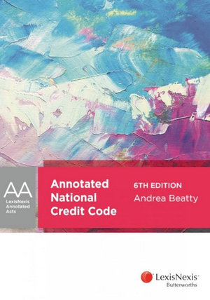 Annotated National Credit Code, 6th edition