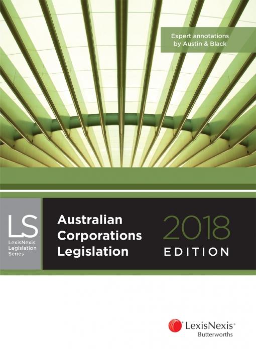 Australian Corporations Legislation 2018
