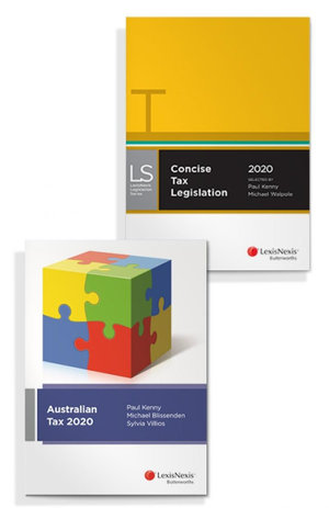Australian Tax 2020 and Concise Tax Legislation 2020 (Bundle)