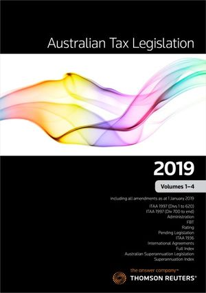 Australian Tax Legislation 2019 Vol 1-4