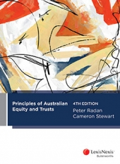 Principles of Australian Equity and Trusts, 4th edition