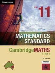 Cambridge Maths Stage 6 NSW Standard Year 11