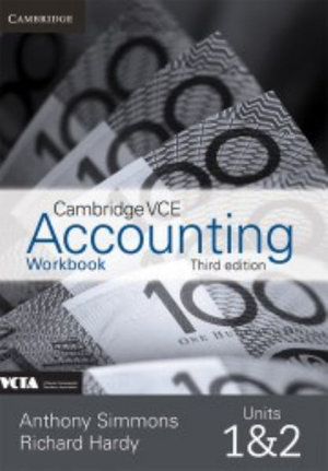 Cambridge VCE Accounting Units 1 and 2 Workbook