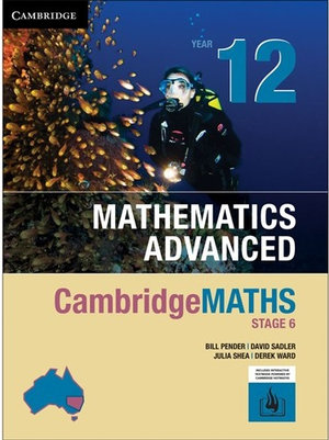 CambridgeMATHS Stage 6 Mathematics Advanced Year 12