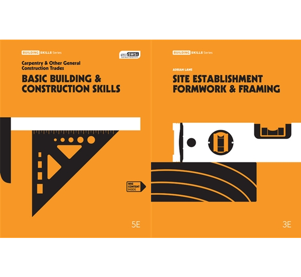 Bundle: Basic Building and Construction Skills + Site Establishment Formwork and Framing