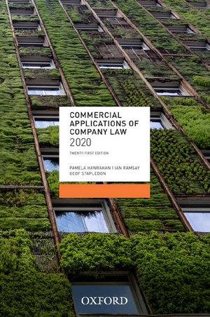 Commercial Applications of Company Law 2020