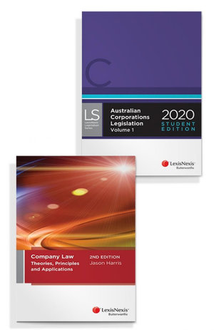 Company Law: Theories, Principles and Applications, 2nd edition and Australian Corporations Legislation 2020 - Student Edition (Bundle)