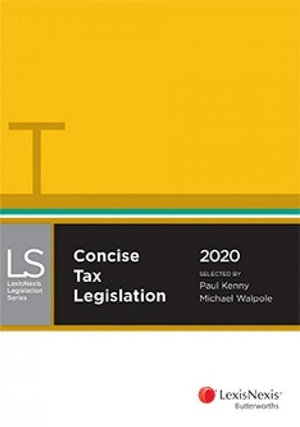 Concise Tax Legislation 2020