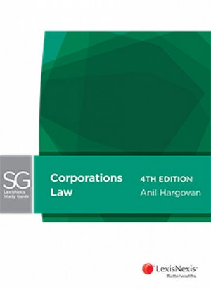 LexisNexis Study Guide: Corporations Law, 4th edition