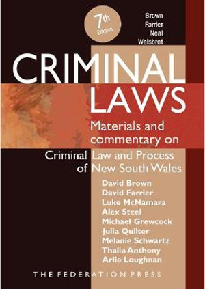 Criminal Laws 7th edition