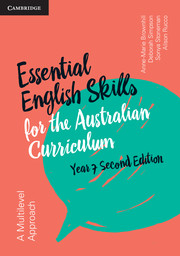 Essential English Skills for the Australian Curriculum Year 7 2nd Edition