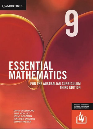 Essential Mathematics for the Australian Curriculum Year 9 Third Edition