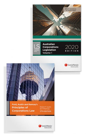 Ford, Austin and Ramsay's Principles of Corporations Law, 17th edition and Australian Corporations Legislation 2020 (Bundle)