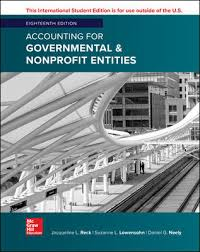 ISE Accounting for Governmental & Nonprofit Entities