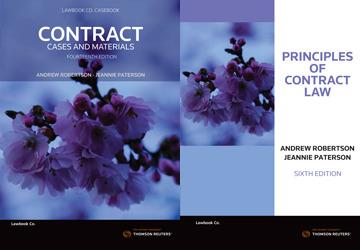 Contract Cases & Materials 14E / Principles of Contract Law 6E