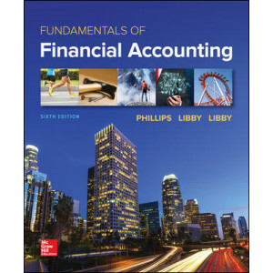 ISE Fundamentals of Financial Accounting