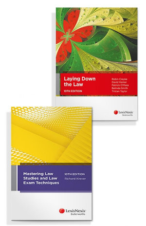 Laying Down the Law, 10th Edition and Mastering Law Studies and Law Exam Techniques, 10th edition (Bundle)