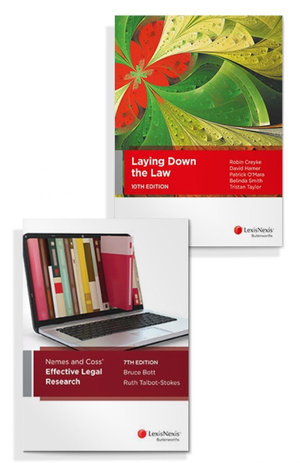 Laying Down the Law, 10th Edition and Nemes & Coss' Effective Legal Research, 7th edition (Bundle)