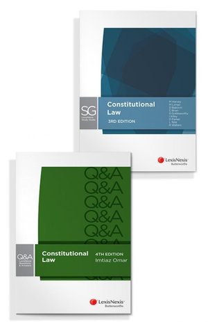 LexisNexis Questions and Answers - Constitutional Law, 4th edition and LexisNexis Study Guide: Constitutional Law, 3rd edition (Bundle)