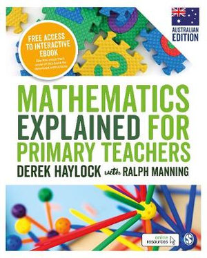 Mathematics Explained for Primary Teachers 6ed (Paperback and eBook) Australian Edition