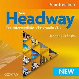 New Headway Pre Intermediate Class CD (3 Discs)
