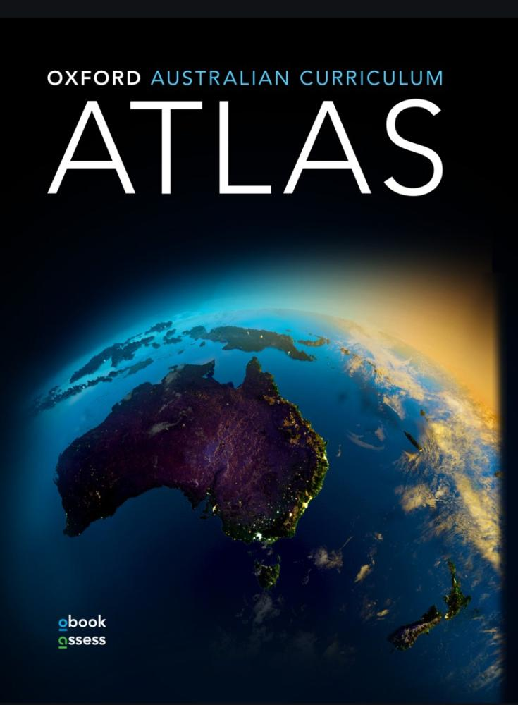 Oxford Australian Curriculum Atlas + obook assess