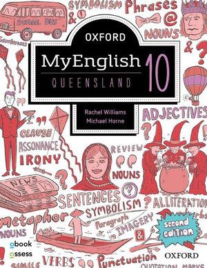 Oxford MyEnglish 10 QLD Student book + obook assess