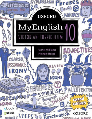 Oxford MyEnglish 10 VIC Student book + obook assess