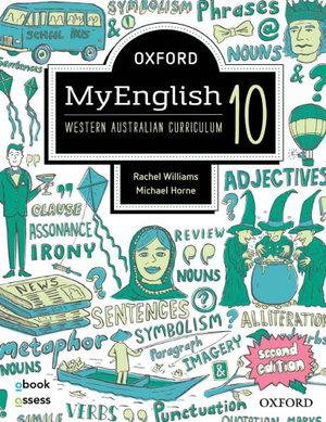 Oxford MyEnglish 10 WA Student book + obook assess
