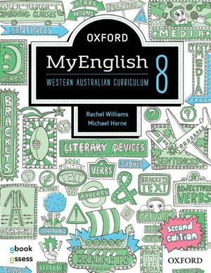 Oxford MyEnglish 8 WA Student book + obook assess