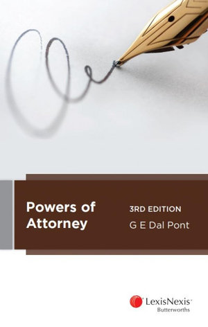 Powers of Attorney, 3rd edition