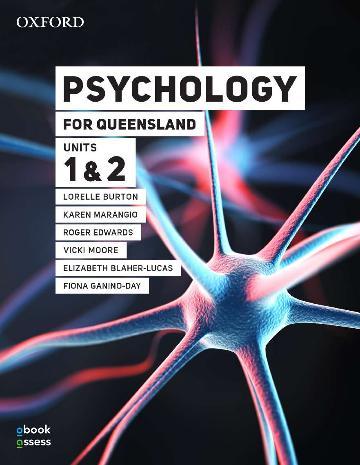Psychology for Queensland Units 1&2 Student book + obook assess