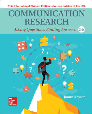 ISE Communication Research: Asking Questions, Finding Answers