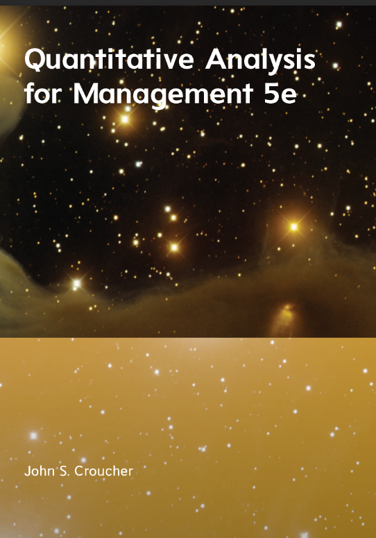 Quantitative Analysis for Management 5e