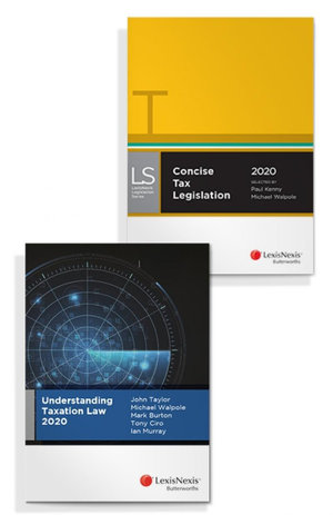 Understanding Taxation Law 2020 and Concise Tax Legislation 2020 (Bundle)