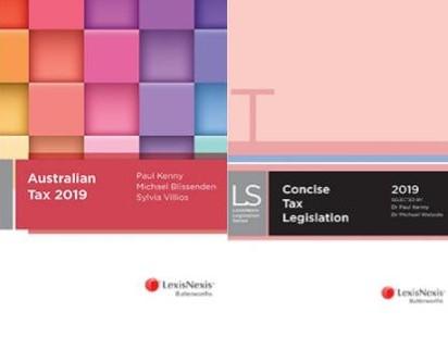 Australian Tax 2019 + LN Concise Tax Legislation 2019 (TAXKEN2 BUNDLE)
