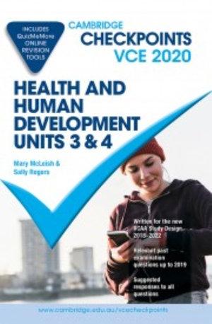 Cambridge Checkpoints VCE Health and Human Development Units 3&4 2020
