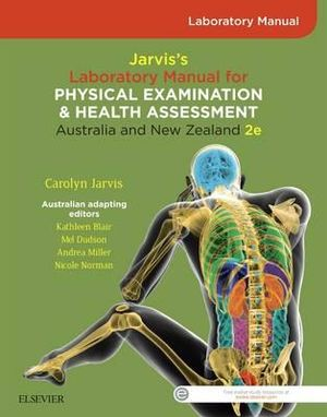 Student Laboratory Manual for Jarvis's Physical Examination and Health Assessment ANZ 2E
