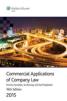 Commercial Applications of Company Law 2015 16th Edition