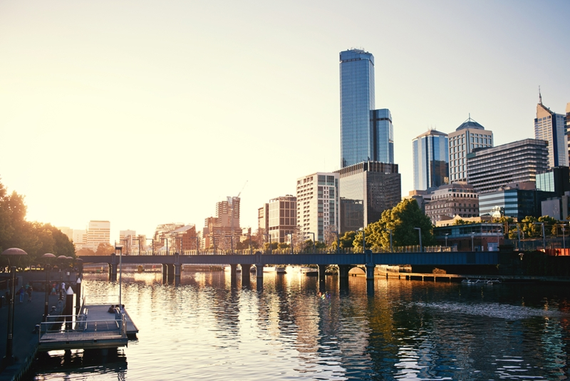Melbourne's premium real estate market is growing quickly.