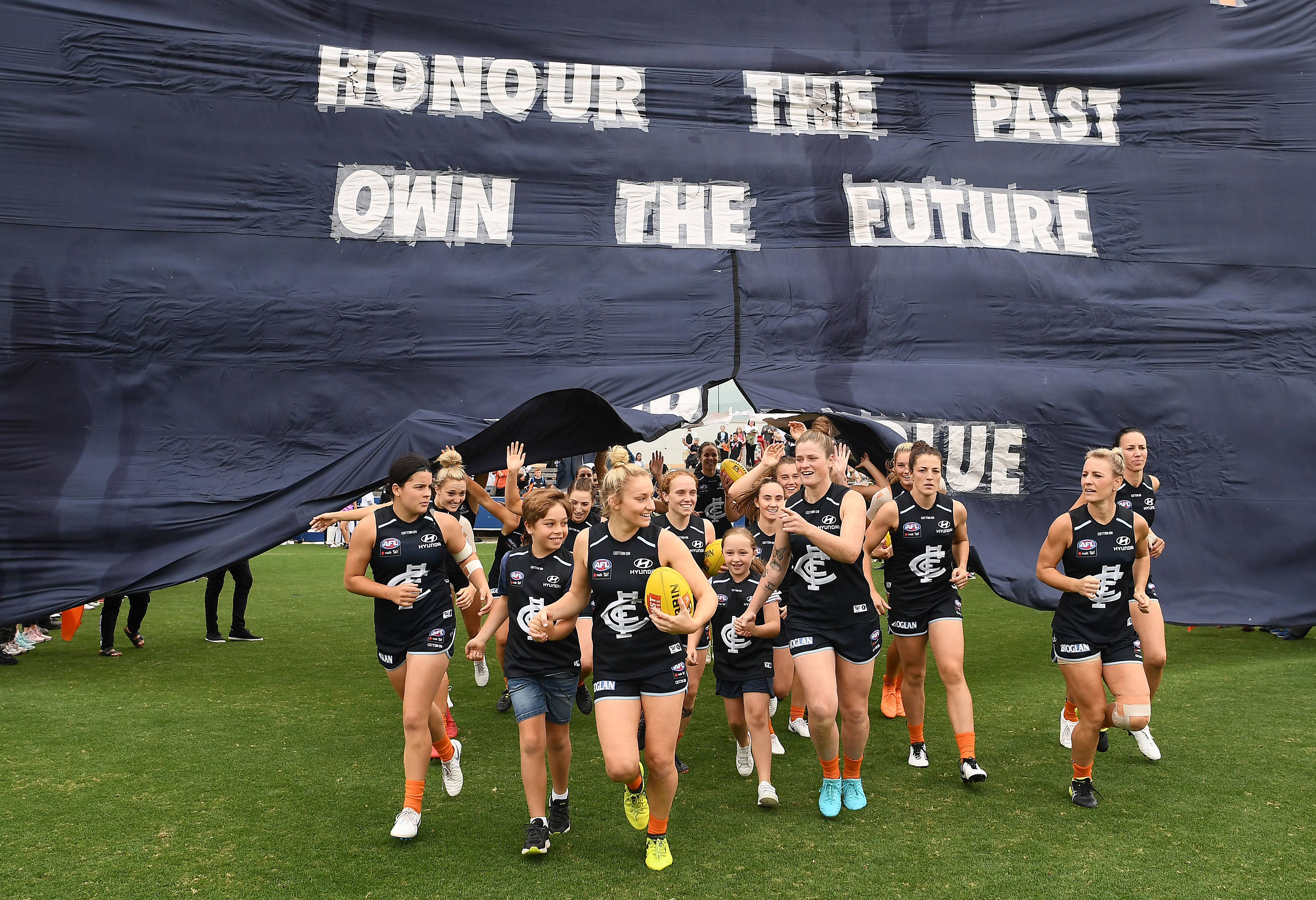 AFLW 2019 Round 06 - Carlton v Brisbane
