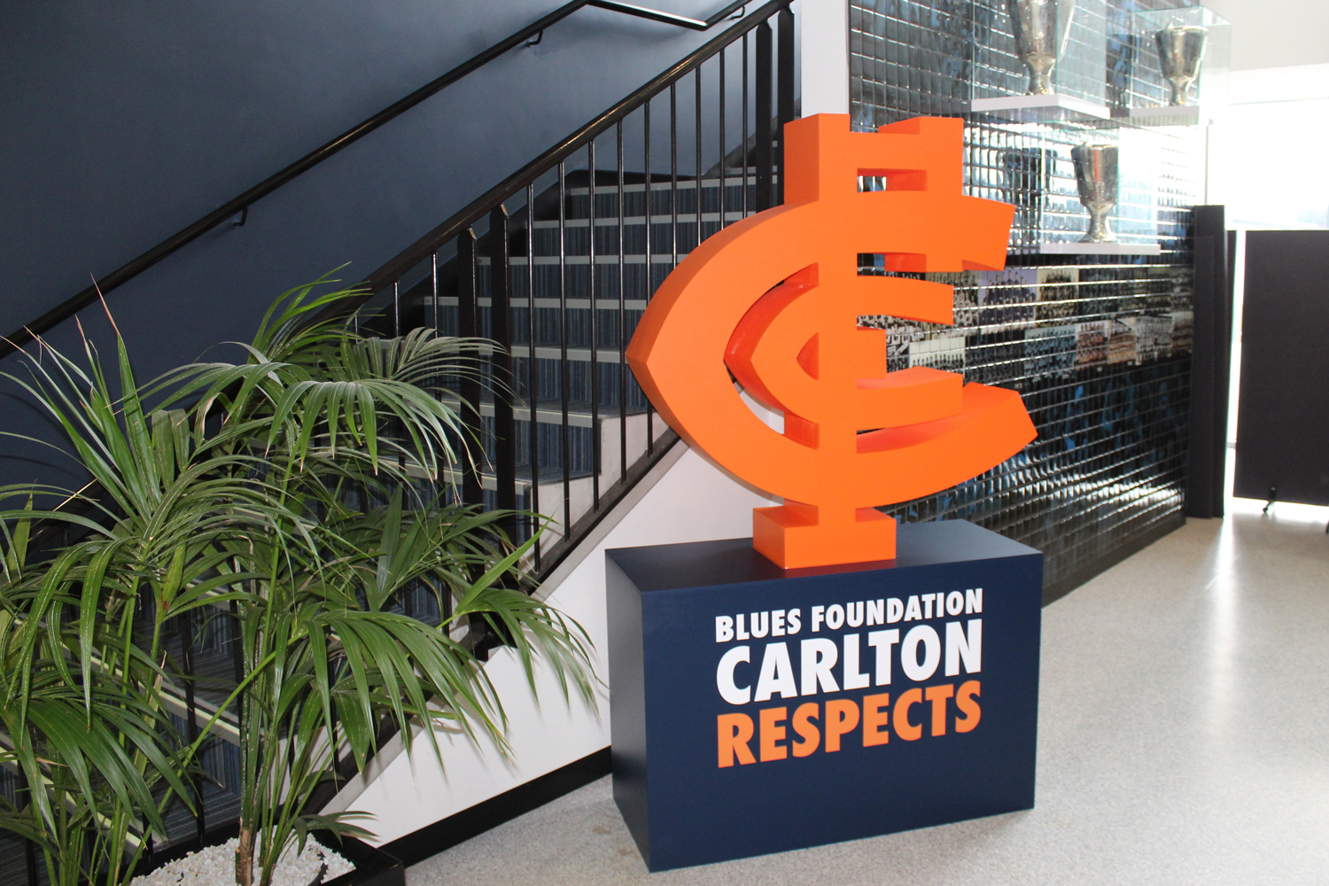 The CARLTON RESPETCS Monogram arrives at Carlton FC