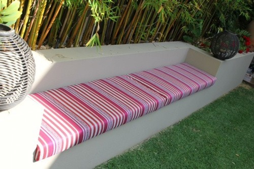 Custom Made Outdoor Daybed And Cushions For Client Of SHEIRA DESIGN The  Style Therapist