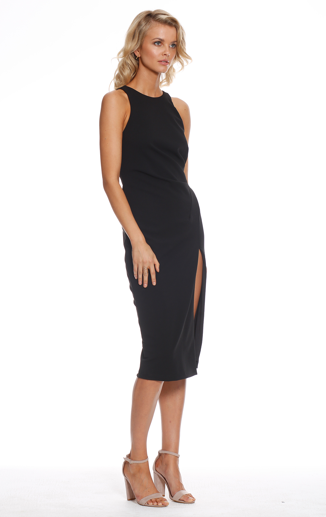 Pasduchas Queen Bee Midi Dress Black