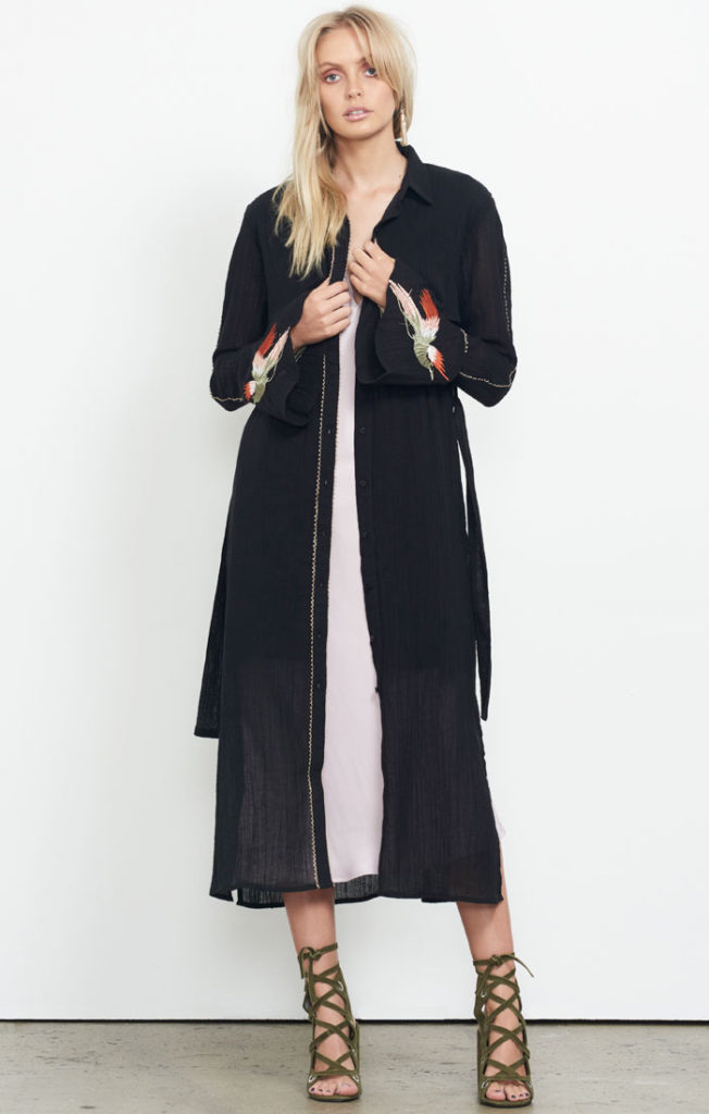 Isla Loaded Shirt Maxi Dress
