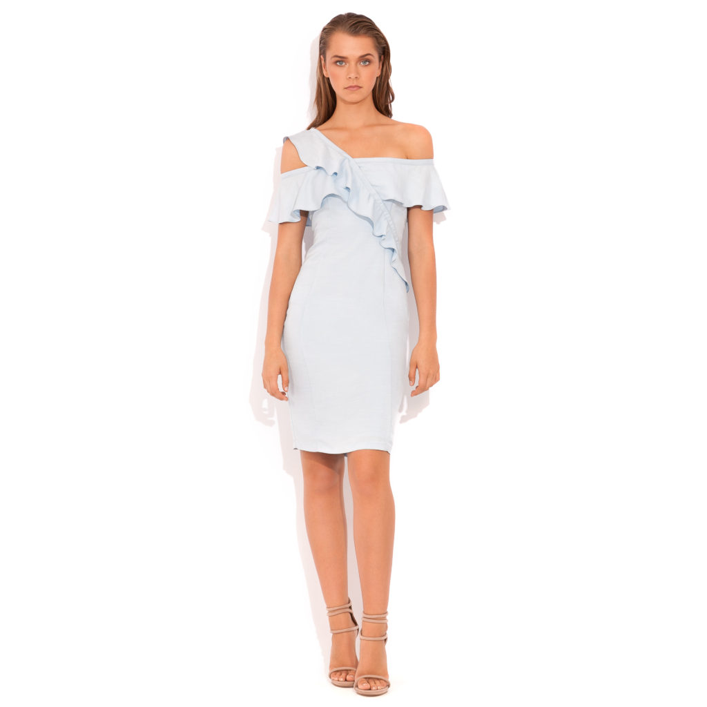 Wish Rhythm Dress – Powder Blue