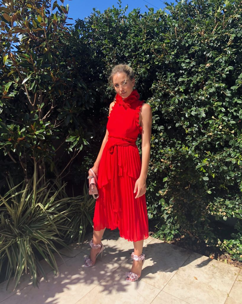 La Maison Talulah Jodi Dress – Red